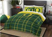 Northwest NCAA Oregon Full Comforter and 2 Shams