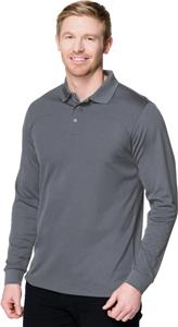 Tri Mountain Mens Vital Snap Long Sleeve Shirt