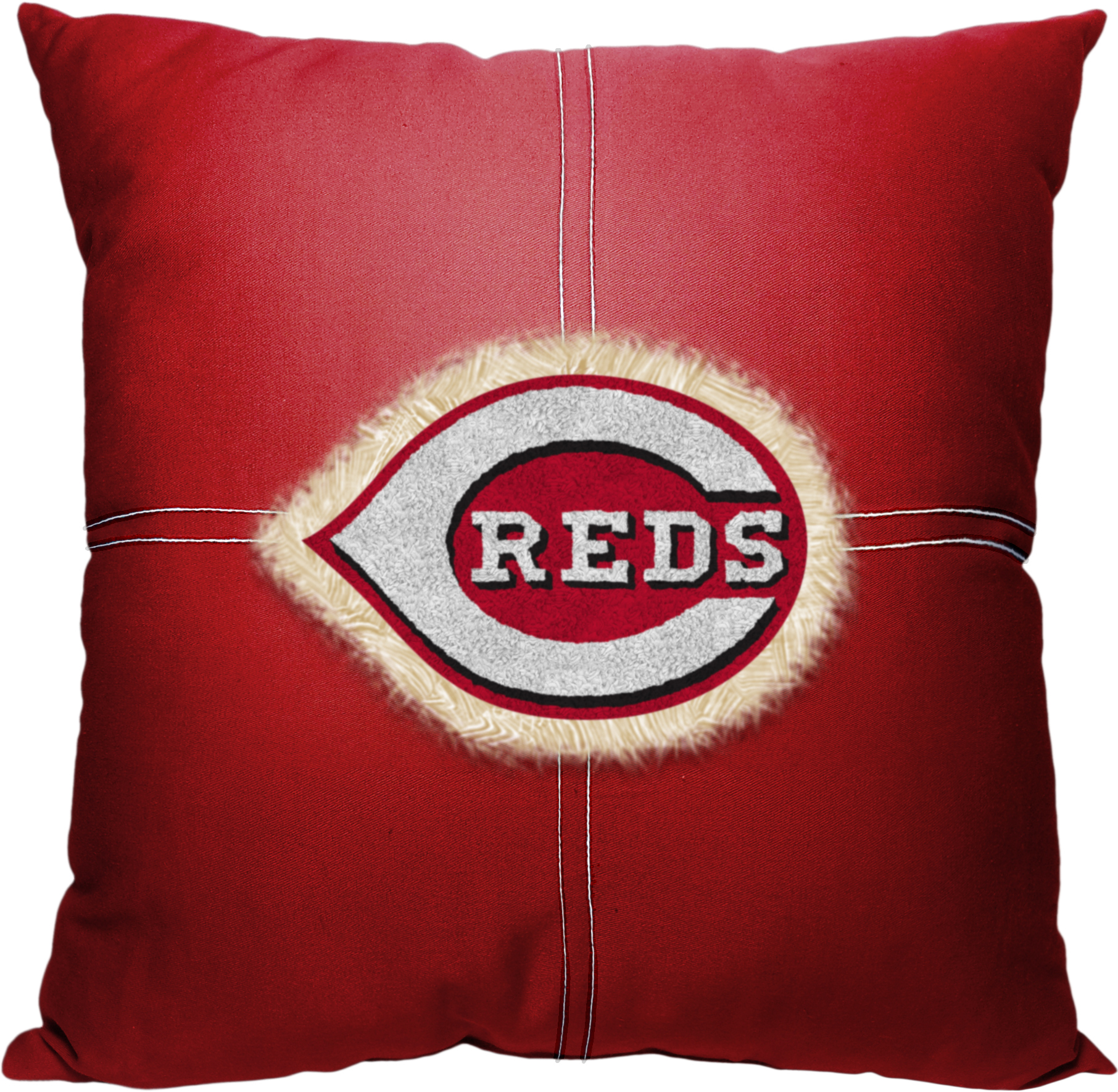 E105349 Northwest MLB Cincinnati Reds Letterman Pillow