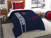 Northwest MLB Boston Red Sox Twin Comforter & Sham