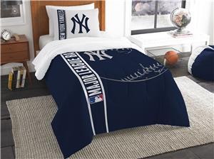 Northwest MLB NY Yankees Twin Comforter & Sham