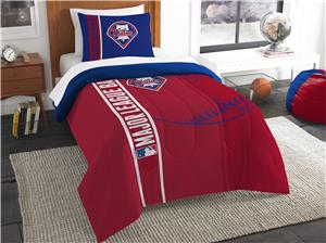 Northwest MLB Phillies Twin Comforter & Sham