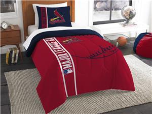 Northwest MLB SL Cardinals Twin Comforter & Sham