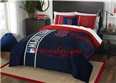 Northwest MLB Red Sox Full Comforter & 2 Shams