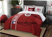 Northwest MLB Reds Full Comforter & 2 Shams