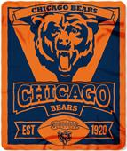 Northwest NFL Bears 50x60 Marque Fleece