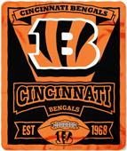 Northwest NFL Bengals 50x60 Marque Fleece