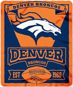 Northwest NFL Broncos 50x60 Marque Fleece