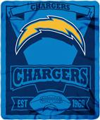 Northwest NFL Chargers 50x60 Marque Fleece