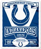 Northwest NFL Colts 50x60 Marque Fleece