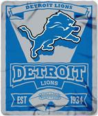 Northwest NFL Lions 50x60 Marque Fleece