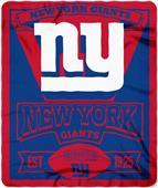 Northwest NFL Giants 50x60 Marque Fleece