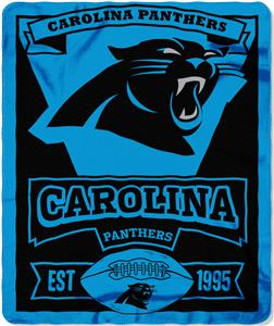 Northwest NFL Panthers 50x60 Marque Fleece