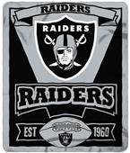 Northwest NFL Raiders 50x60 Marque Fleece