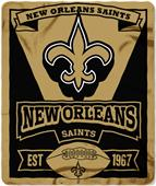 Northwest NFL Saints 50x60 Marque Fleece