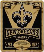Northwest NFL Saints 50x60 Marque Fleece