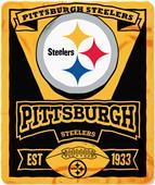 Northwest NFL Steelers 50x60 Marque Fleece