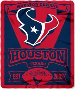 Northwest NFL Texans 50x60 Marque Fleece