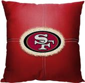 Northwest NFL 49ers Letterman Pillow