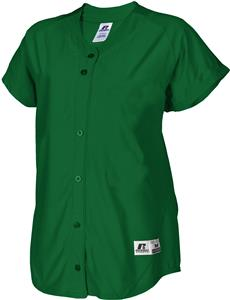 Russell Faux Placket Pullover Softball Jersey