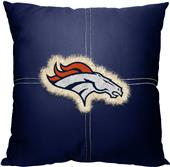 Northwest NFL Broncos Letterman Pillow