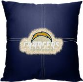 Northwest NFL Chargers Letterman Pillow