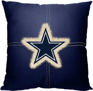 Northwest NFL Cowboys Letterman Pillow