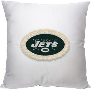 Northwest NFL Jets Letterman Pillow