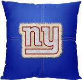 Northwest NFL Giants Letterman Pillow