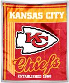 Northwest NFL Chiefs 50x60 Mink Sherpa Throw