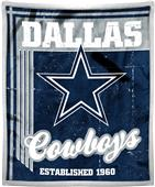 Northwest NFL Cowboys 50x60 Mink Sherpa Throw