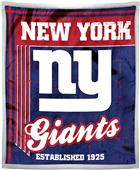 Northwest NFL Giants 50x60 Mink Sherpa Throw