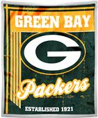 Northwest NFL Packers 50x60 Mink Sherpa Throw