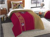 Northwest NFL 49ers Twin Comforter & Sham