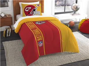 Northwest NFL Chiefs Twin Comforter & Sham