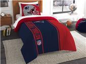 Northwest NFL Patriots Twin Comforter & Sham