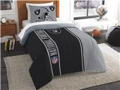 Northwest NFL Raiders Twin Comforter & Sham