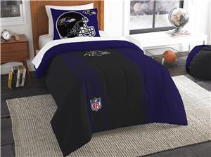 Northwest NFL Ravens Twin Comforter & Sham