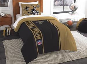 Northwest NFL Saints Twin Comforter & Sham
