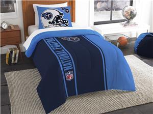 Northwest NFL Titans Twin Comforter & Sham