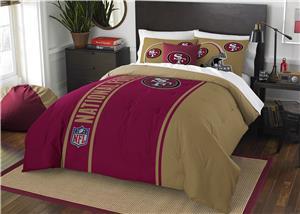 Northwest NFL 49ers Full Comforter & 2 Shams
