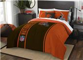 Northwest NFL Browns Full Comforter & 2 Shams
