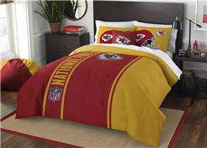 Northwest NFL Chiefs Full Comforter & 2 Shams