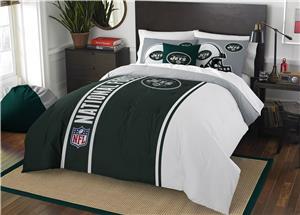 Northwest NFL Jets Full Comforter & 2 Shams