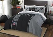 Northwest NFL Raiders Full Comforter & 2 Shams