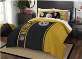 Northwest NFL Steelers Full Comforter & 2 Shams
