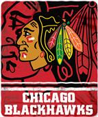 Northwest NHL Blackhawks Fade Away Fleece