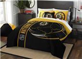 Northwest NHL Bruins Full Comforter & 2 Shams