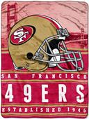 Northwest NFL 49ers 60x80 Silk Touch Throw