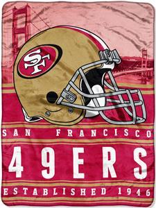 Northwest NFL 49ers 60x80 Silk Touch Throw